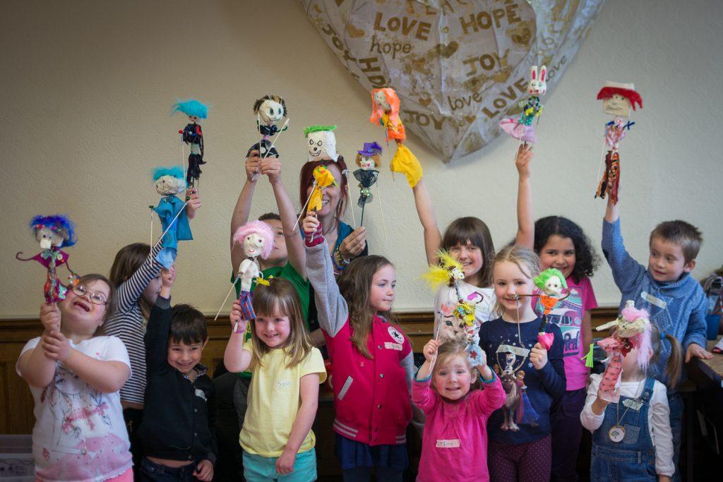 Puppets! Puppets! Puppets! Workshop - Puppet-Stew - Fri 17 April 2015 - Inch Community Centre, Edinburgh